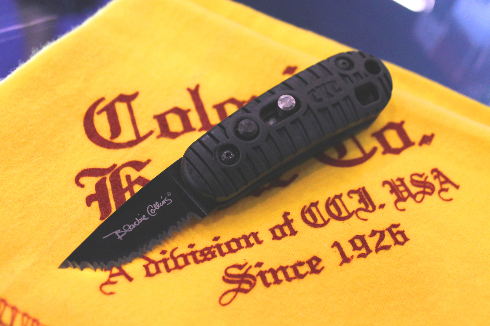 Colonial Knife Company Blackie Collins Signature Series