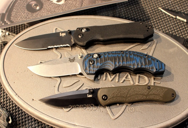 New Benchmade Knives for 2014