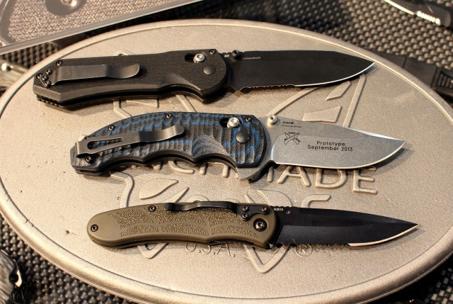 New Benchmade Knives