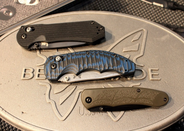 New Benchmade Knives closed
