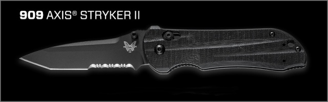 Benchmade 909SBK Stryker