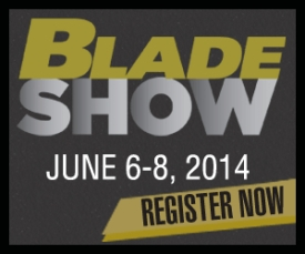 Blade Show banner ad 300x250