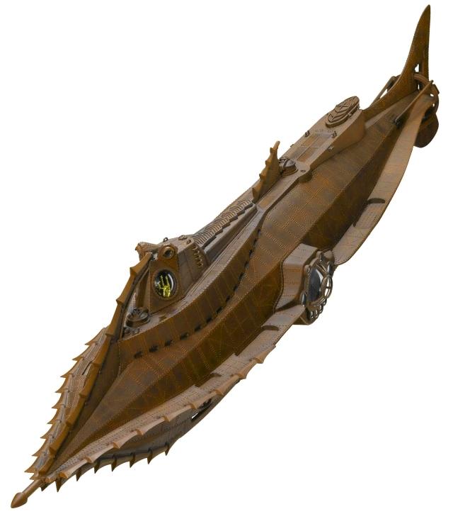 Nautilus Submarine diving