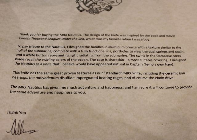 Rat Worx Nautilus Letter