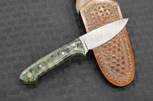 Turning Point Knives Damascus Hunter