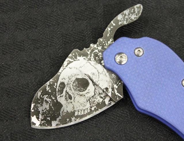 Turning Point Knives Skull blade