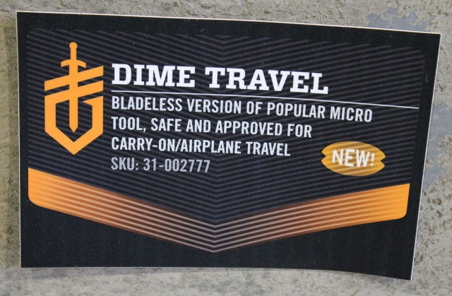 Gerber Dime Travel card