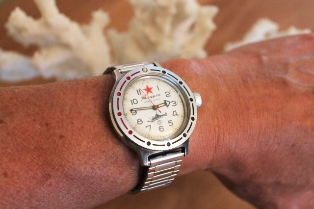Vostok Komandirskie wrist