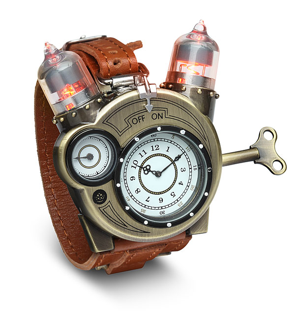 Tesla Watch Steampunk