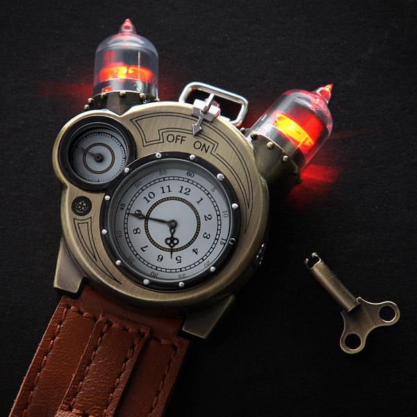 Tesla Watch From Thinkgeek Bladebarrelbezel Com