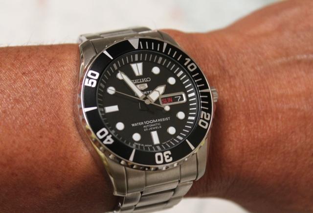 Seiko SNZF17 wrist large