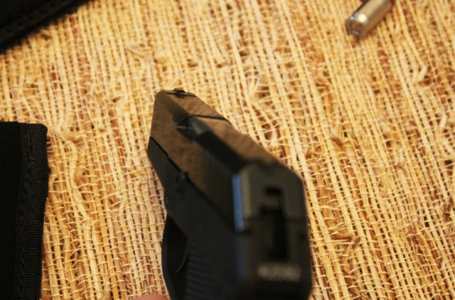 Kel-Tec P3AT front sight