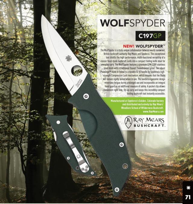 Spyderco WolfSpyder