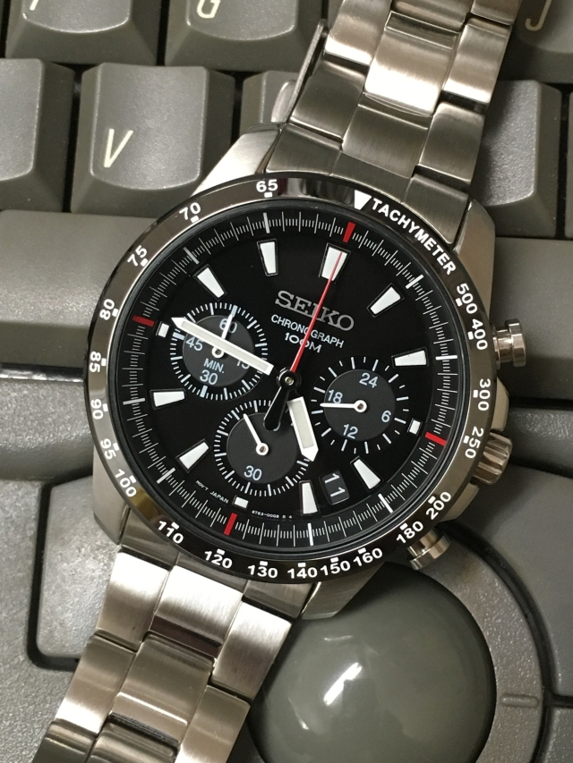Seiko SSB031 close up