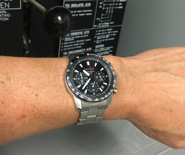 Seiko SSB031 wrist