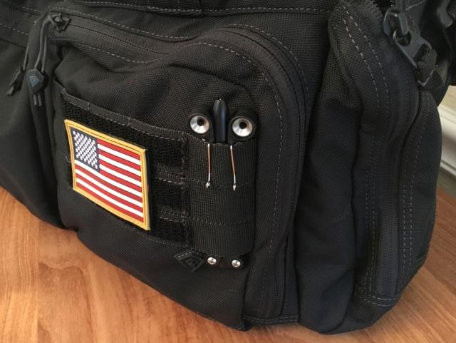 Spyderco BaliYo briefcase MOLLE