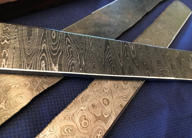 Blade Show 2016 Alabama Damascus steel