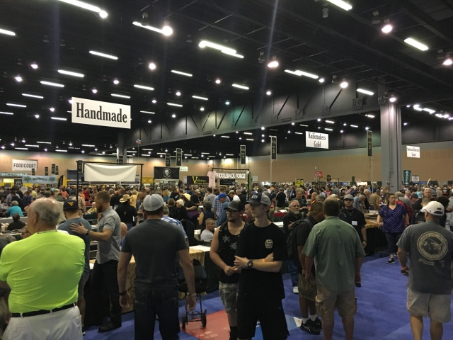 Blade Show 2016 half of the show floor
