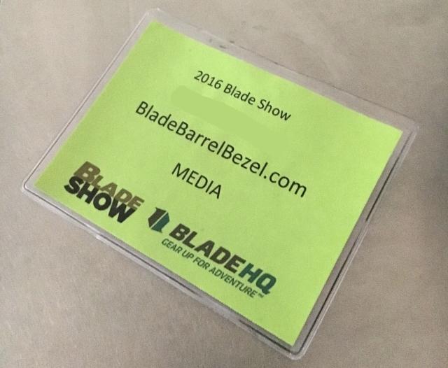 Blade Show 2016 Media Pass